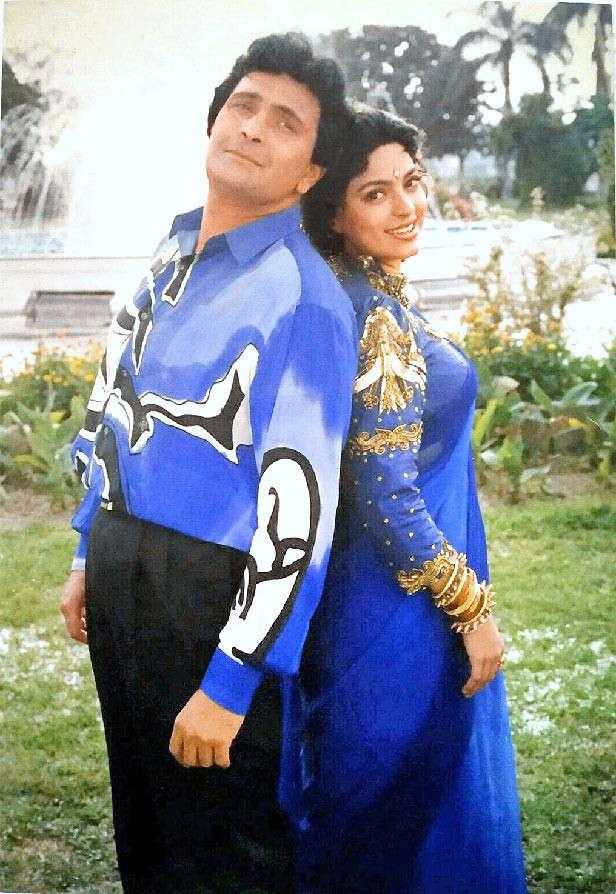 Rishi Kapoor Juhi Chawla