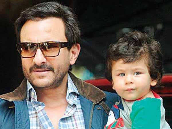 This cameo by Taimur Ali Khan in one of Saif Ali Khan's interviews is too cute!