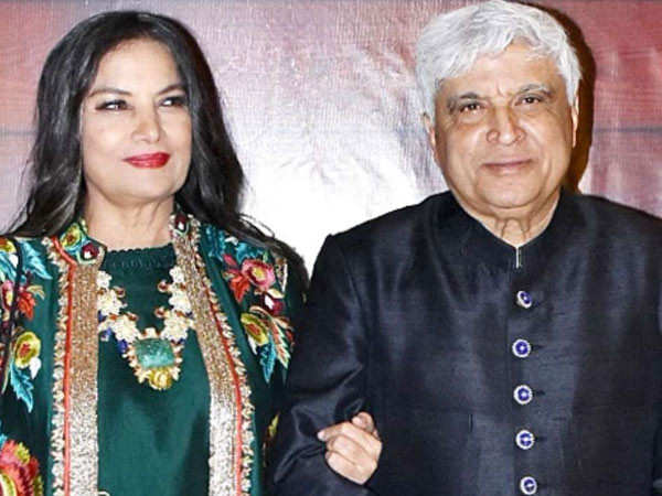 """""""Javed and I have provided 4000-plus meals in the city's slums.""""- Shabana Azmi"""