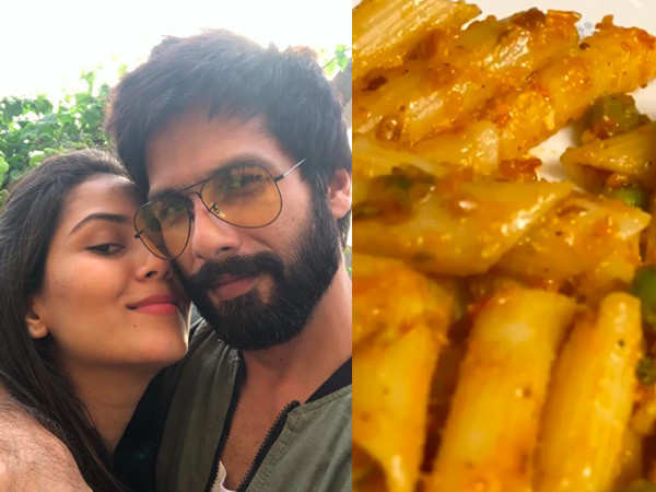 Mira Rajput calls Shahid Kapoor's pasta the best she's ever had
