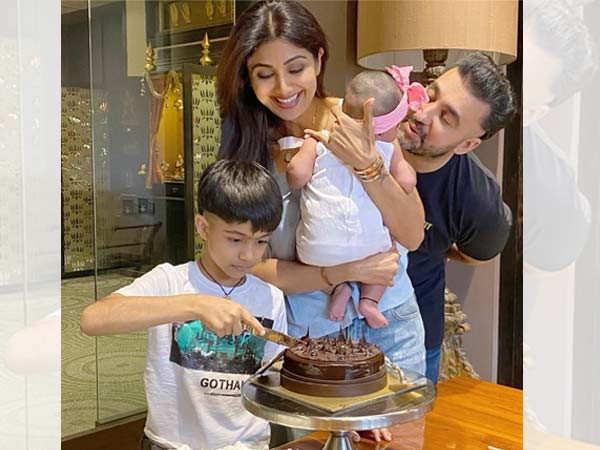 Photos: Take a look at how Shilpa Shetty Kundra celebrated her birthday