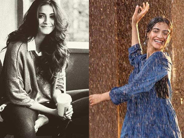 Sonam Kapoor welcomes the first showers poetically