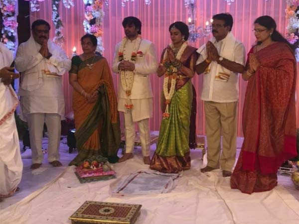 Photos: Saaho director Sujeeth gets engaged