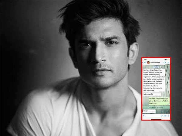 Sushant Singh Rajput's psychiatrist clears the air around breaching the confidentiality clause