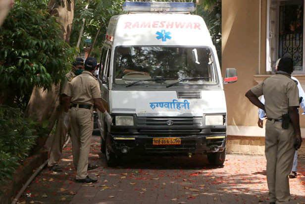 Sushant Singh Rajput  Ambulance