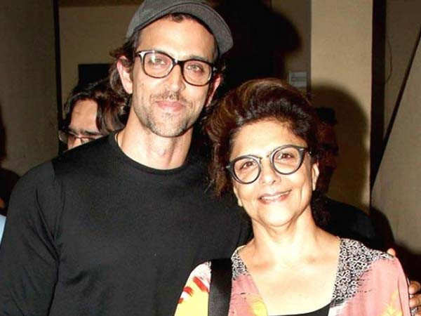 Hrithik Roshan's mother shares a throwback picture of the actor
