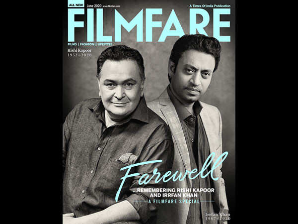 Remembering the legacy of Rishi Kapoor and Irrfan Khan with our latest cover