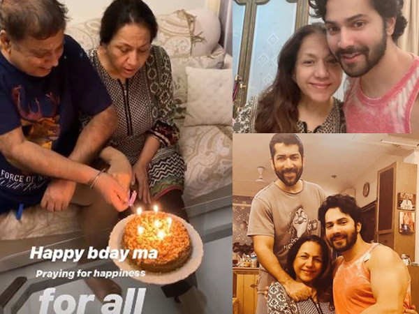 Varun Dhawan wishes his mother on her birthday with a sweet post