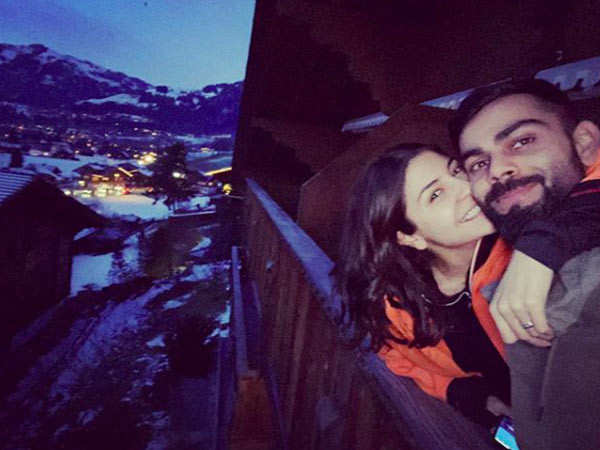 Virat Kohli Shares a Throwback Picture from his Vacation with Anushka Sharma