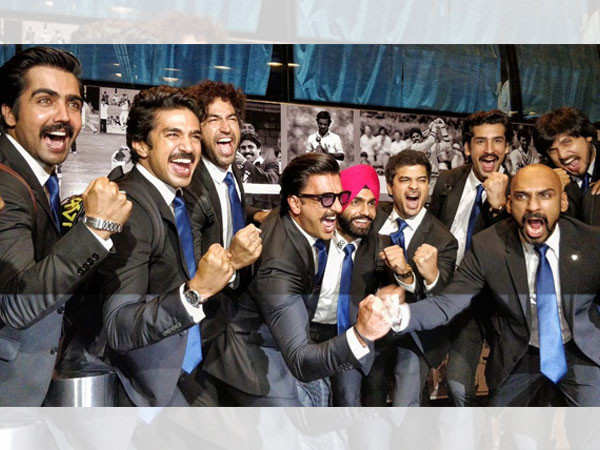 Makers of  '83 pay tribute Kapil Dev and his World Cup winning team