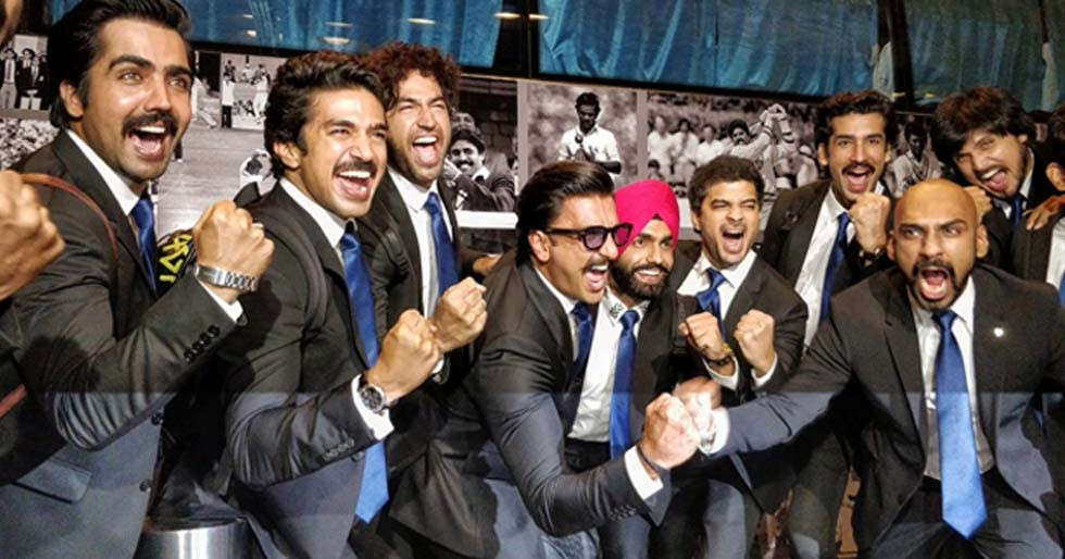 Makers of â83 pay tribute Kapil Dev and his World Cup winning team