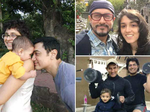 Family pictures of Aamir Khan that are too good to miss