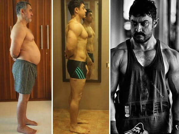 5 times Aamir Khan impressed us with his physical transformation