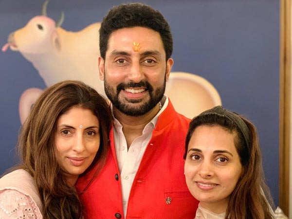 Abhishek Bachchan's birthday wish for Shweta Bachchan is hilarious