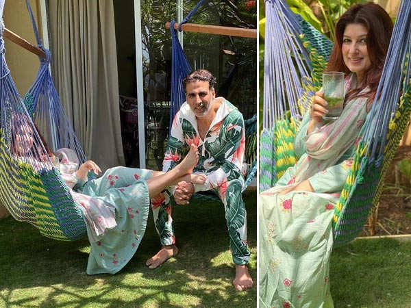 Akshay Kumar and Twinkle Khanna are making the most of their time at home