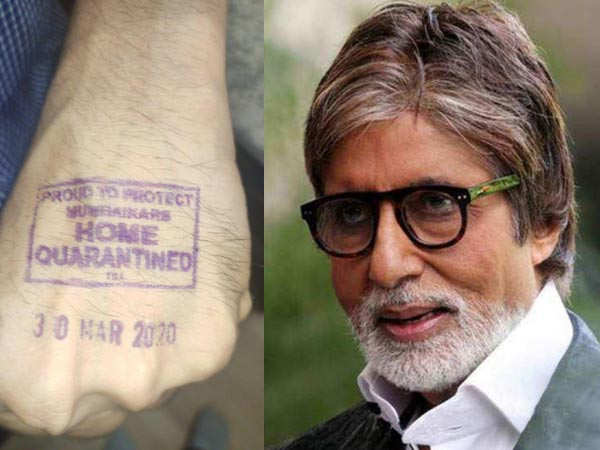 Amitabh Bachchan gives a Glimpse of what he is Upto during the lockdown