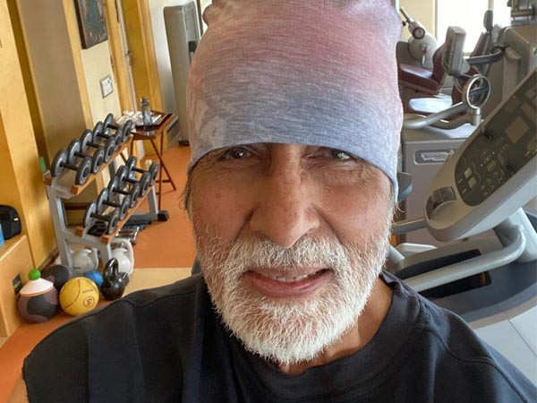Amitabh Bachchan's latest Instagram post is all about fitness