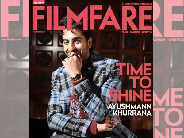Ayushmann Khurrana sports the Iconic Link by Daniel Wellington on our latest digital cover