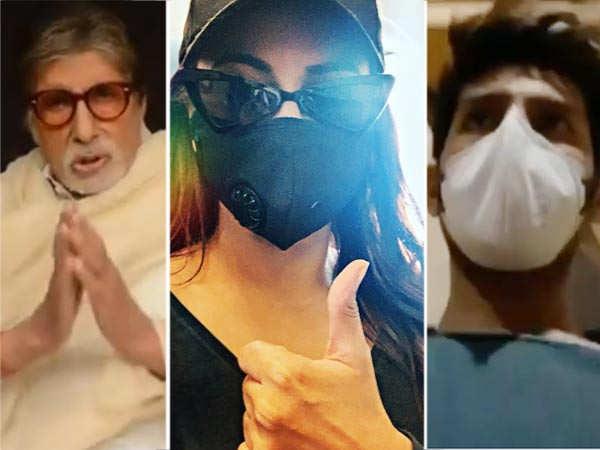 Bollywood stars use social media to create awareness for coronavirus