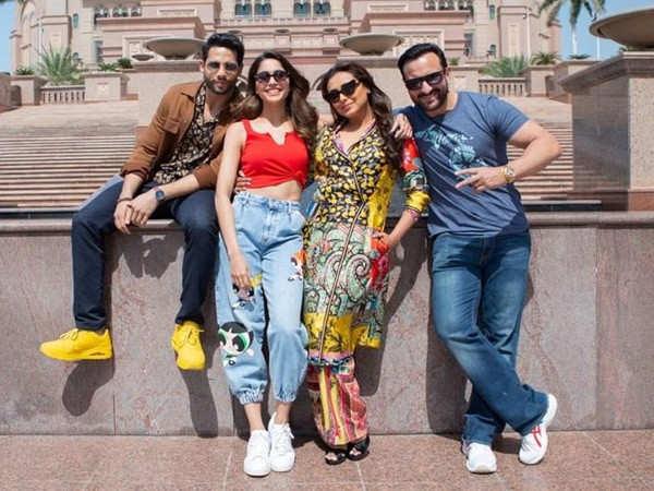 Team Bunty Aur Babli 2 wrap up the Abu Dhabi schedule of the film
