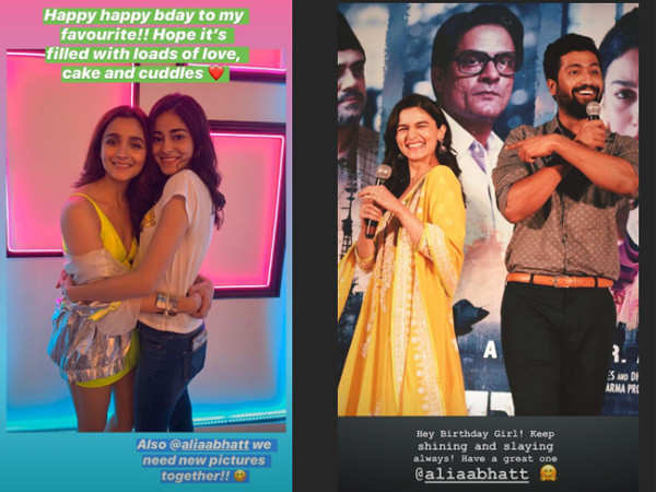 Bollywood celebs pour in birthday wishes for Alia Bhatt