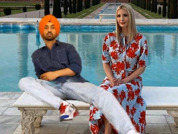 Diljit Dosanjh indulges in a hilarious banter with Donald Trump's daughter Ivanka Trump