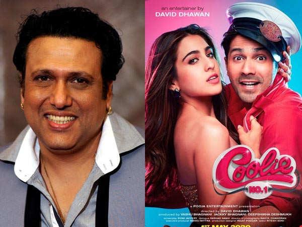 Govinda won't have a cameo in Varun Dhawan and Sara Ali Khan's Coolie No.1