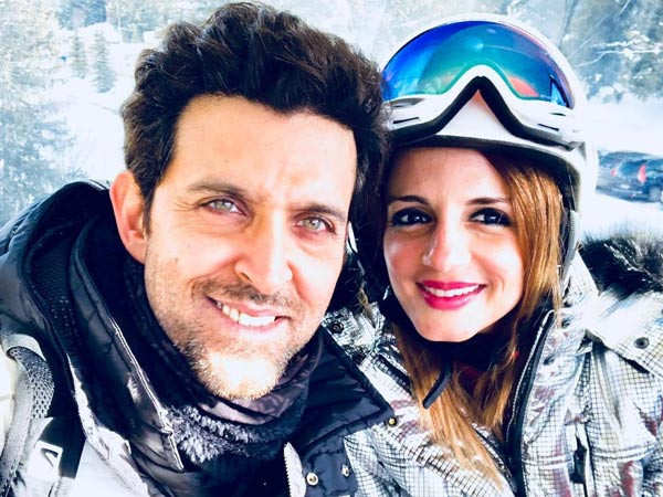 Hrithik Roshan and Sussanne Khan move in together temporarily