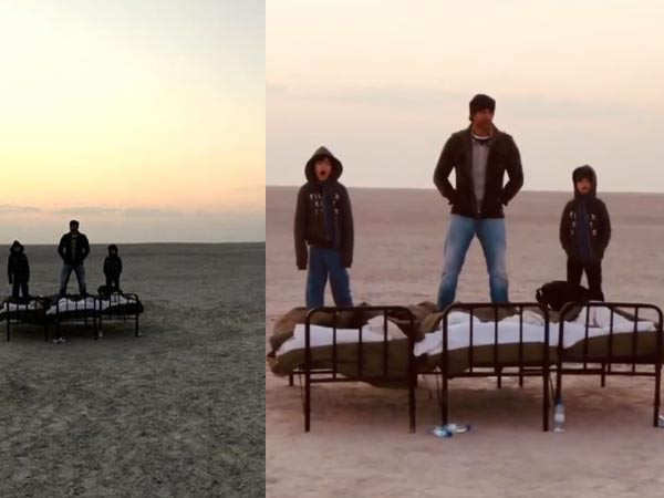 Hrithik Roshan shares throwback pictures from his trip to Botswana with his sons