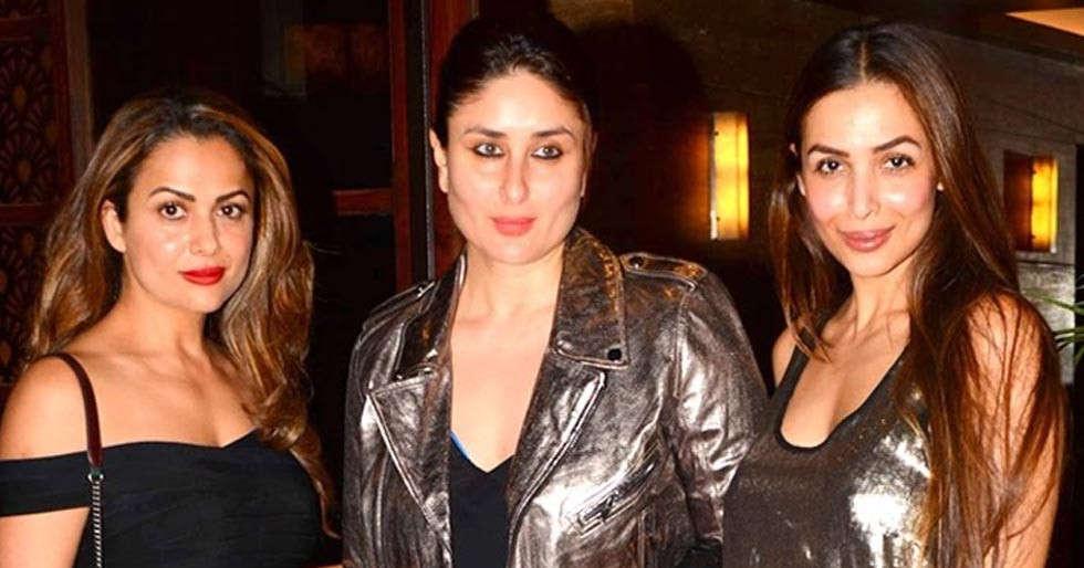 Here's how Kareena Kapoor Khan, Malaika Arora and Amrita Arora are practising social distancing