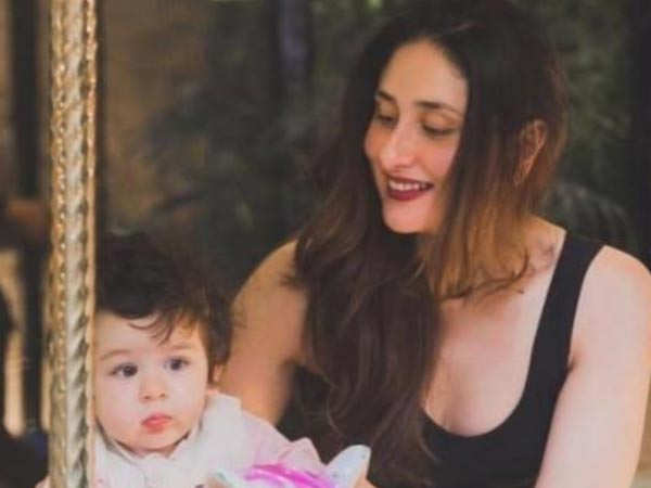 This picture of Taimur Ali Khan shared by Kareena Kapoor Khan is adorable