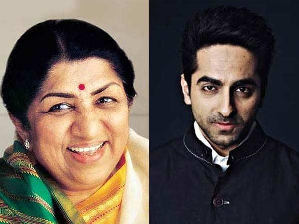 Lata Mangeshkar praises Ayushmann Khurrana's performance in Andhadhun