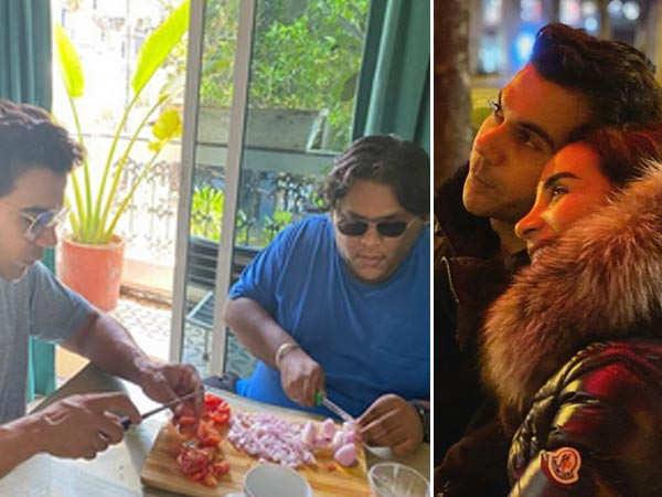 Rajkummar Rao and Patralekhaa turn chefs during quarantine