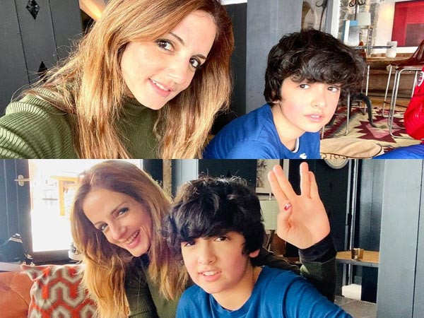 Sussanne Khan has a beautiful message for son Hrehaan on his 14th birthday