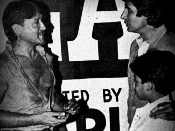 Abhishek Bachchan shares a throwback picture of Amitabh Bachchan and Jackie Shroff