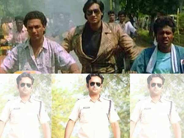 Madhya Pradesh cop falls in trouble for recreating Ajay Devgn's movie stunt