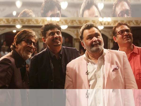 Amitabh Bachchan reveals he never visited Rishi Kapoor in the hospital
