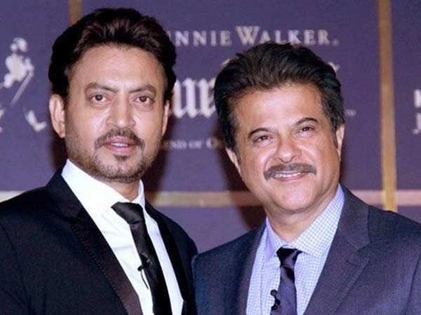 Anil Kapoor shares an emotional post remembering Late Irrfan Khan