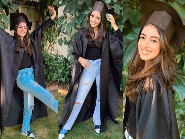 Here's how the Bachchans celebrated Navya Naveli Nanda's graduation during the lockdown