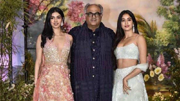 Boney Kapoor fille Janhvi Khushi
