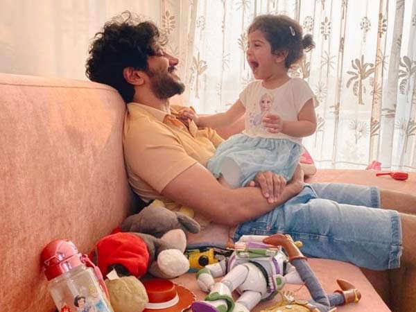 Dulquer Salmaan writes an emotional post for his daughter on her 3rd birthday