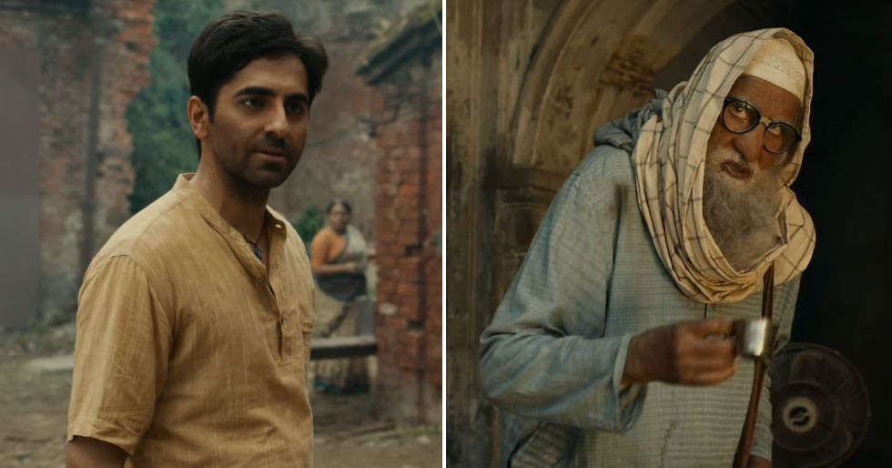 Ayushmann Khurrana and Amitabh Bachchan are a treat to watch in Gulabo Sitabo's trailer