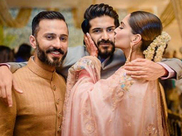 Harshvardhan Kapoor shares a sweet picture of Sonam Kapoor and Anand Ahuja