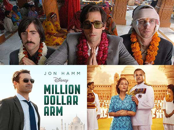 Recent Hollywood movies set in India