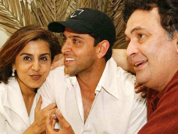 Hrithik Roshan thanks Rishi Kapoor for always being there for him