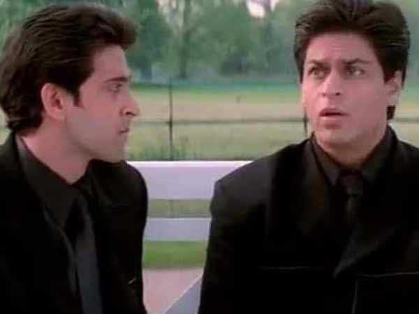 Did Shah Rukh Khan give Hrithik Roshan the cold shoulder on the sets of Kabhi Khushi Kabhie Gham?