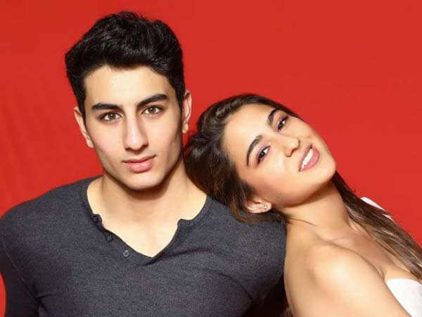 Ibrahim Ali Khan shares an adorable picture with sister Sara Ali Khan