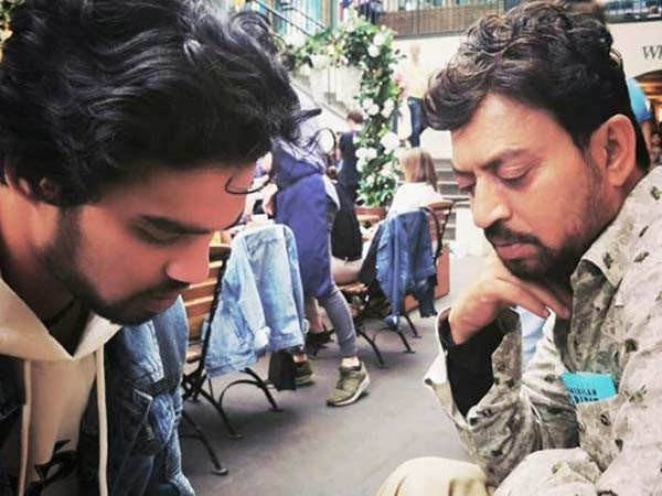Irrfan's Son Babil Khan Shares an Image of his Father Playing with a Cat