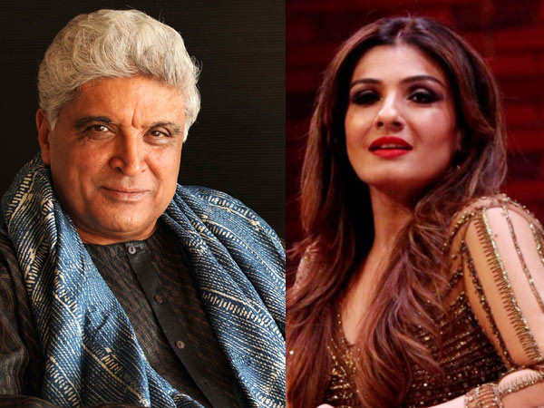 Javed Akhtar and Raveena Tandon condemn government's decision to reopen liquor stores