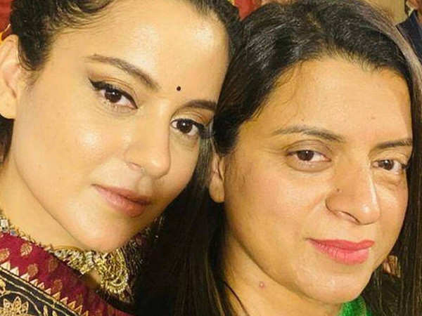 Kangana Ranaut helps out sister Rangoli with design inputs